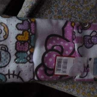 Hello Kitty 方巾 3 條 [ 日本製造 )