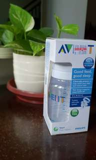 Botol susu philips avent 1 bulan ke atas / bottle feeding 1m+