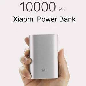 Xiaomi power bank 10000mAh 2nd generation. Silver