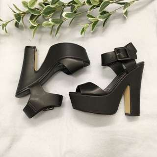 Luichiny heels - black