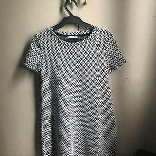 Zara TRF Jaquared Dress