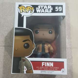 Legit Brand New With Box Funko Pop Star Wars Finn Toy Figure