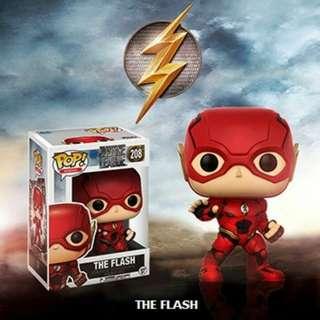 Funko Pop The Flash #208 Pop! Heroes Justice League BNIB