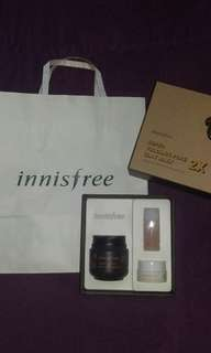 NEW Innisfree super volcanic pore clay mask SET