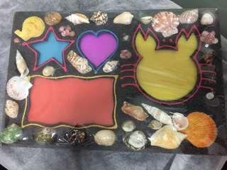 Sea shells  photo frame