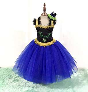 Frozen Princess Anna Gown