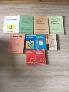 Marketing textbooks Urgent clearance