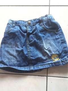 baby Jeans Skirt