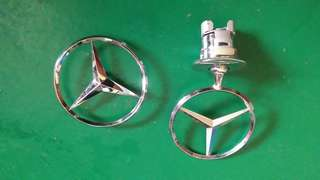 Logo mercedes set