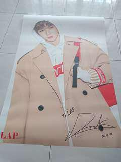 Ready Stock Wanna One Kang Daniel LAP Double Sided Big Poster Type A