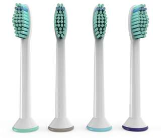 🚚 Philips Sonicare Compatible Replacement Toothbrush Heads(Pack of 4)
