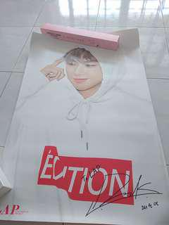 Ready Stock Wanna One Kang Daniel LAP Double Sided Big Poster Type B