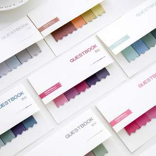 Gradient Coloured Tabs