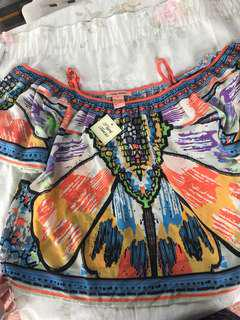 Colored Off shoulder - From USA