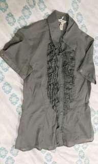 Et Cetera Grey Shirt (#007) #maudecay
