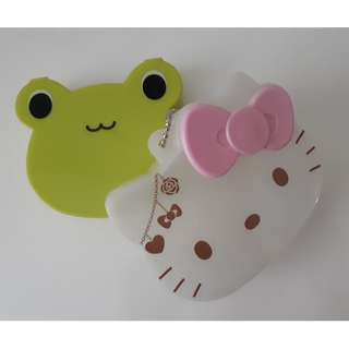 New Hello Kitty and Froggy Cosmetics Case