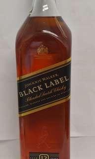 Johnnie Walker Black Label 12年威士忌700ml,no box,香港行貨。每一支