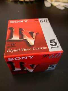 Sony digital video cassette 60 mins.