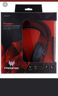 BNIB Acer predator gaming headset