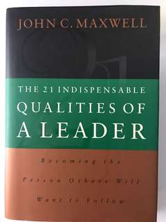 🚚 The 21 indispensable qualities of a leader - John c maxwell