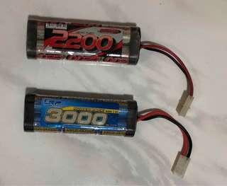 2PCS RC Car Battery