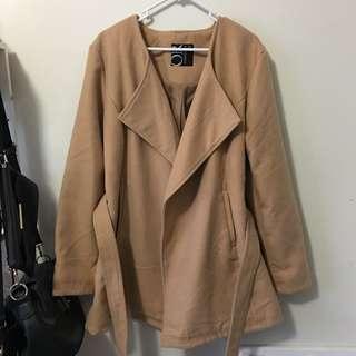 Caramel beige coat