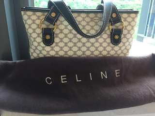 Celine handbag with bag, used but look like brand new