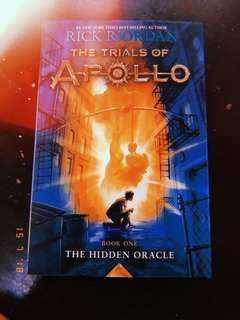 Trials of Apollo: THE HIDDEN ORACLE