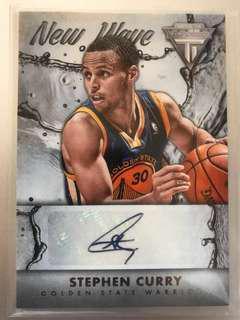 Stephen Curry Autograph Basketball Card Auto NBA