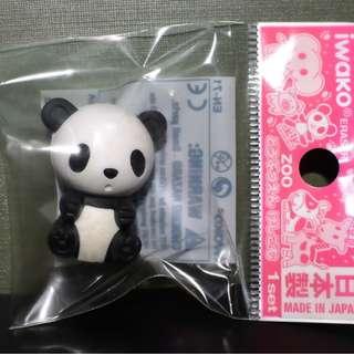 Iwako Zoo Animal Series Eraser Panda Free Postage