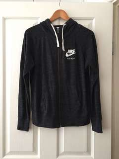 Nike Gym Vintage Zip Hooded Jacket- M