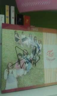 Twice mina signed album