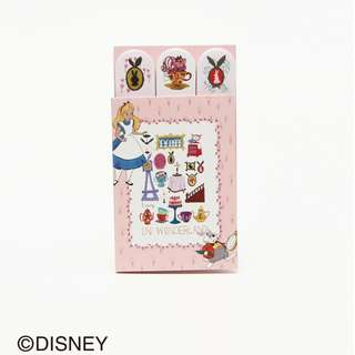 Japan Afternoon Tea Disney Collection Alice in Wonderland Pink Sticky Notes