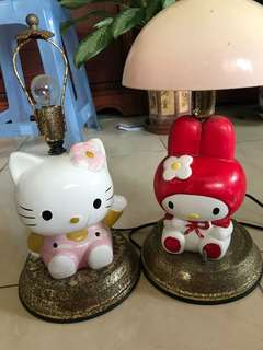 🚚 Hello kitty& Melody夜燈擺飾品