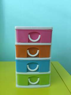 Plastic small Drawers