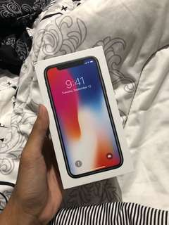 JUAL RUGI CEPAT IPHONE X 64GB SPACE GREY