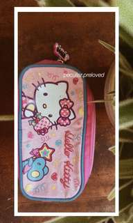 Hello Kitty Pink & Blue Pencil Case