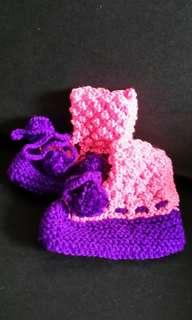 Pinky purple Baby 1 Year SOCK