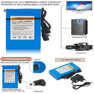 12V Rechargeable battery and 12V Driver / Adapter