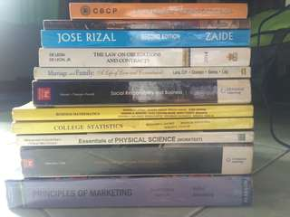 ACADEMIC BOOKS!