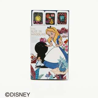 Japan Afternoon Tea Disney Collection Alice in Wonderland Light Blue Sticky Notes