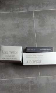 Laura Mercier Foundation Primer | loose powder | concealer