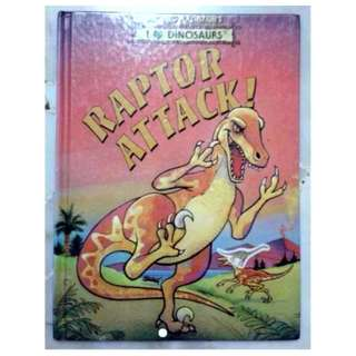 Hardcover Raptor Attack! (I Love Dinosaurs) – Michael Berenstain (Author), Jesse Clay (Illustrator)