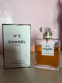 Preloved Chanel No.5 80% Full