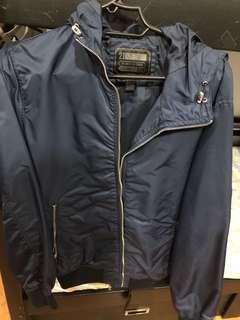 21 mens raincoat jacket large