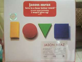 (PRELOVED) CD JASON MRAZ