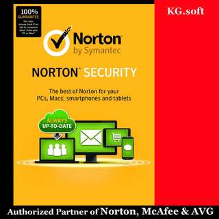 🔥Norton Security Deluxe/Premium for 5 / 10 devices 1-year🔥
