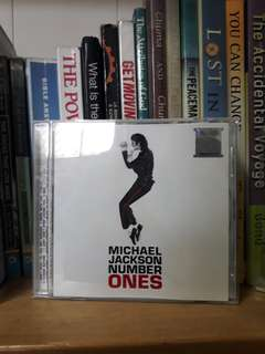 Michael Jackson Number one CD