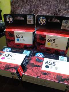 HP ink advantage 655