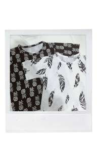 B&W shirts (2 for 130)